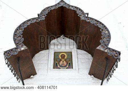 Arch Of Nikolskaya Church In Sviyazhsky Assumption Monastery