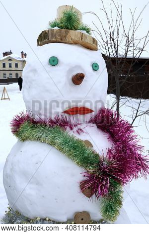 Details Of Snow Maiden In Sviyazhsk