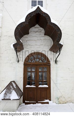 Door Of Nikolskaya Church In Sviyazhsky Assumption Monastery