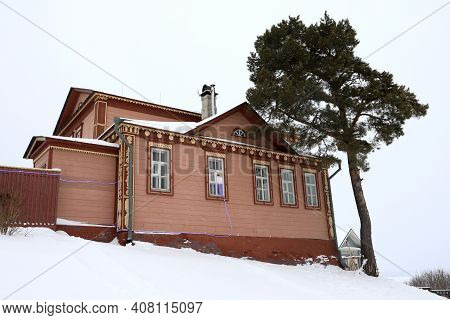 Wooden House On Hill
