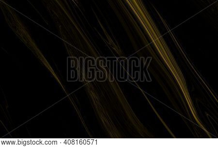 Marble Texture Wall Surface Black Gold Ink Pattern Graphic  Background Granite Abstract Light Elegan