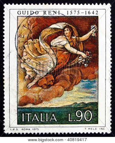 Postage stamp Italy 1975 Flora, Painting by Guido Reni