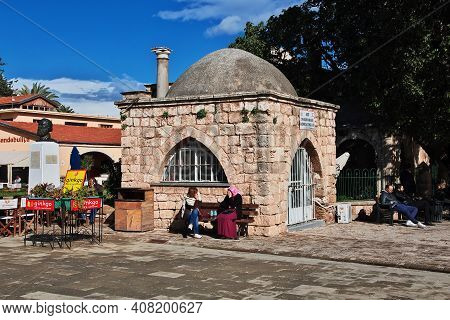 Famagusta, Northern Cyprus - 08 Jan 2016: The Tomb In Famagusta, Northern Cyprus