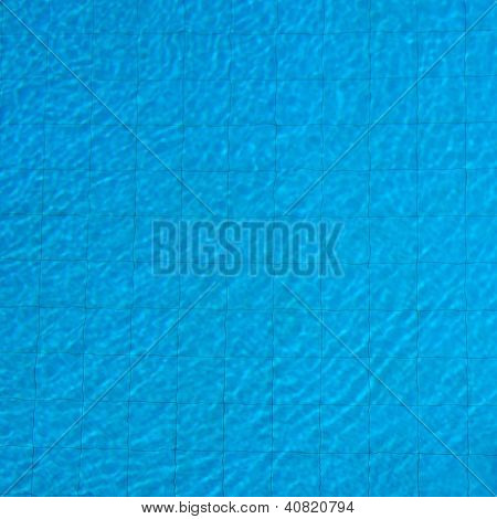 Surface Of The Water In The Pool