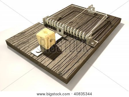 Mousetrap With Cheese Perspective