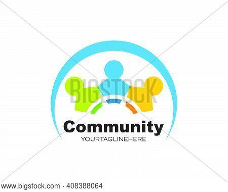 Leadership,community,social And Company Logo Icon Vector
