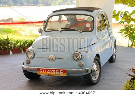 Fiat 500 On Display