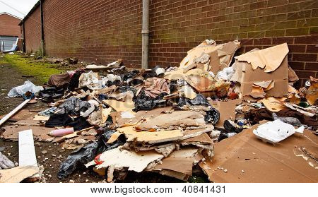 Fly Tipping Of Refuse