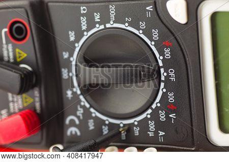 Multimeter Electrical Installation Multimeter Measuring Tip Measuring Device Electric Measuring Devi