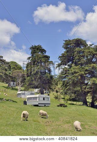 Rural campsite