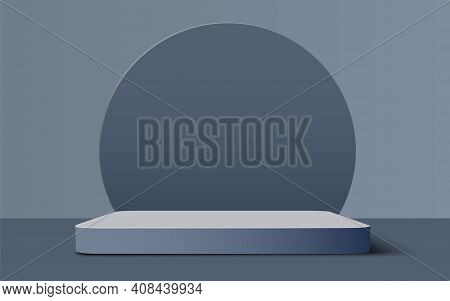 Abstract Scene Background. Cylinder Podium Background. Product Presentation, Mock Up, Show Cosmetic