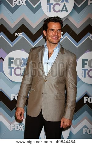 PASADENA, CA - JAN 8:  Antonio Sabato Jr. attends the FOX TV 2013 TCA Winter Press Tour at Langham Huntington Hotel on January 8, 2013 in Pasadena, CA