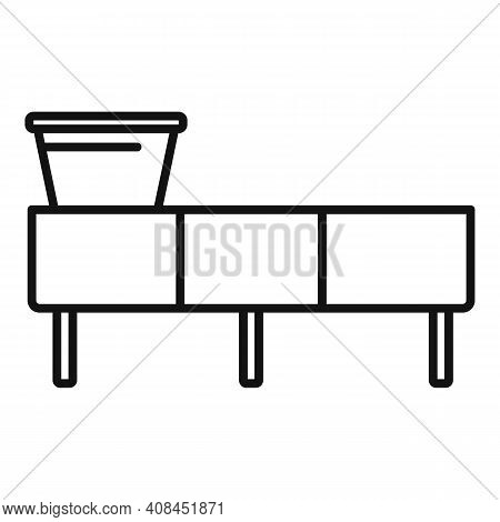 Winemaker Line Icon. Outline Winemaker Line Vector Icon For Web Design Isolated On White Background