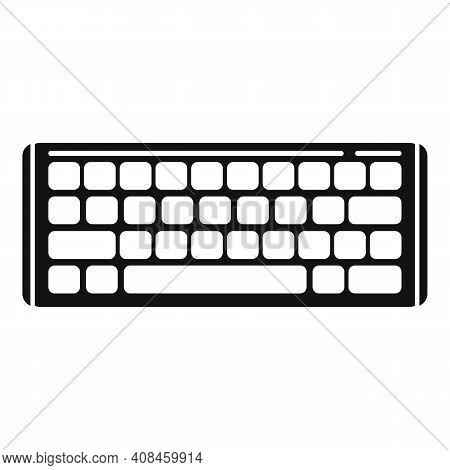 Equipment Keyboard Icon. Simple Illustration Of Equipment Keyboard Vector Icon For Web Design Isolat