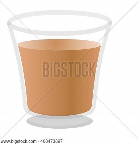 Cappuccino Icon. Cartoon Of Cappuccino Vector Icon For Web Design Isolated On White Background