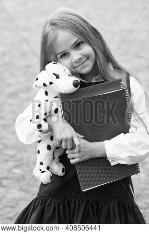Care And Trust. Preschool Child Hug Toy Dog. Back To School Supplies. Preschool Education. Afterscho