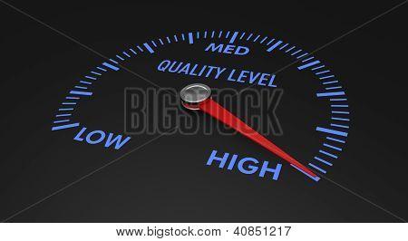 Speedometer - Quality Level
