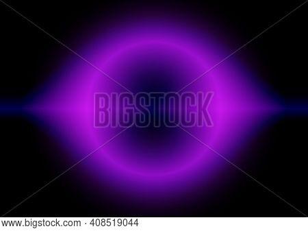 Abstract Plasma Modern Horizontal Background, Stock Vector