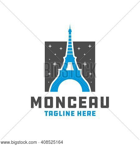 Modern Eiffel Tower Logo Design Your Company