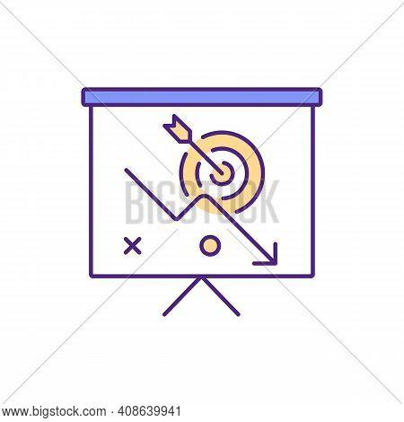 Poor Work Organization Rgb Color Icon. Employee Productivity Erosion. Low-priority Tasks. Disorganiz