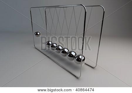 Newton's Moving Balls