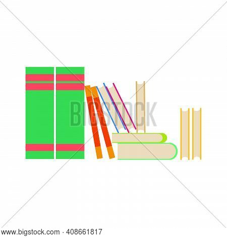 Book Learning Cover School Isolated White Design Symbol. Knowledge Book Study Object Symbol Read. Bo