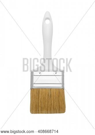 Paint brush isolated on white background