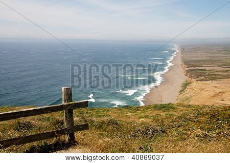 View of Pt. Reyes sea shore, Northern California