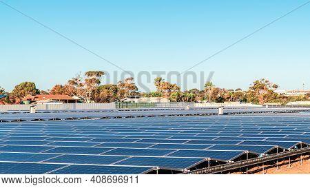 New Solar Panel Farm Under Construction In South Australia