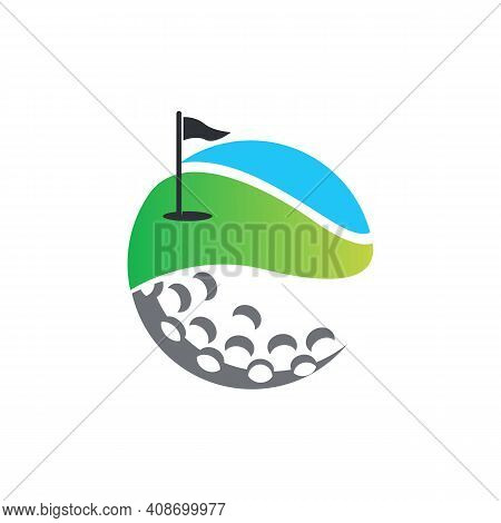 Iconic Golf Sport Logo Designs Vector, Golf Club Icons, Symbols, Elements And Logo