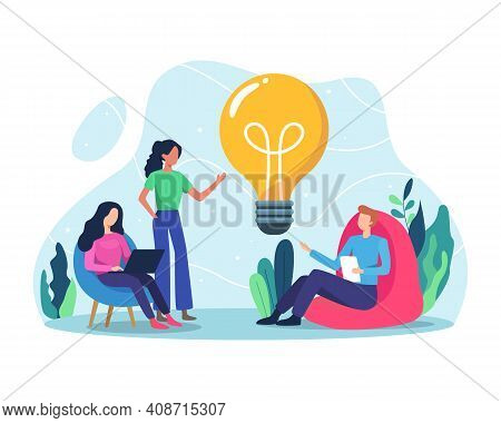 Business Idea Concept Illustration