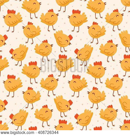 Bird, Chicken, Chick. Easter Domestic Animals, Pets. Poultry Farm, Hennery, Countryside Life. Eco Fo