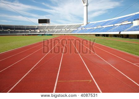Track And Field Stadium
