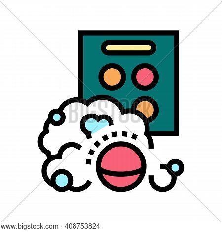 Aqua Bombs Color Icon Vector. Aqua Bombs Sign. Isolated Symbol Illustration