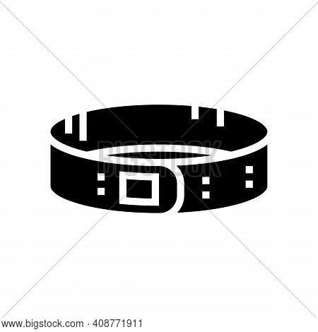 Clip On Head Glyph Icon Vector. Clip On Head Sign. Isolated Contour Symbol Black Illustration