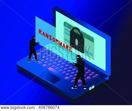 Ransomware Malware Wannacry Risk Symbol Hacker Cyber Attack Concept Computer Virus Notpetya Spectre