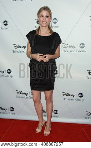 LOS ANGELES - AUG 08: Julie Bowen arrives to the 2009 Disney-ABC Televison Group Summer Press Tour on August 08, 2009 in Pasadena, CA