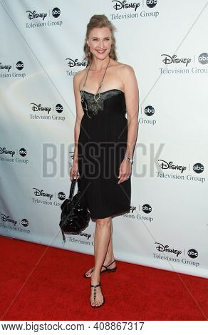 LOS ANGELES - AUG 08: Brenda Strong arrives to the 2009 Disney-ABC Televison Group Summer Press Tour on August 08, 2009 in Pasadena, CA