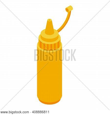 Mustard Icon. Isometric Of Mustard Vector Icon For Web Design Isolated On White Background