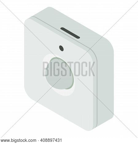 Motion Sensor Icon. Isometric Of Motion Sensor Vector Icon For Web Design Isolated On White Backgrou