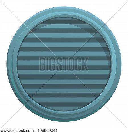Municipal Manhole Icon. Cartoon Of Municipal Manhole Vector Icon For Web Design Isolated On White Ba