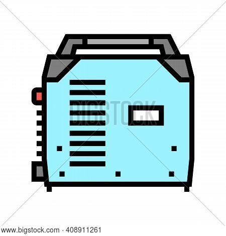 Inverter Welding Color Icon Vector. Inverter Welding Sign. Isolated Symbol Illustration