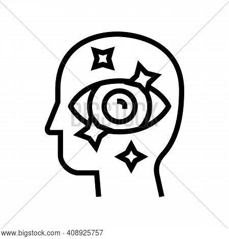 Aesthetics Philosophy Line Icon Vector. Aesthetics Philosophy Sign. Isolated Contour Symbol Black Il