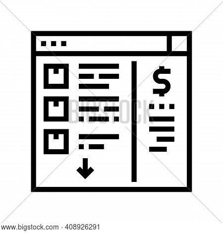 Needs Recognition Line Icon Vector. Needs Recognition Sign. Isolated Contour Symbol Black Illustrati