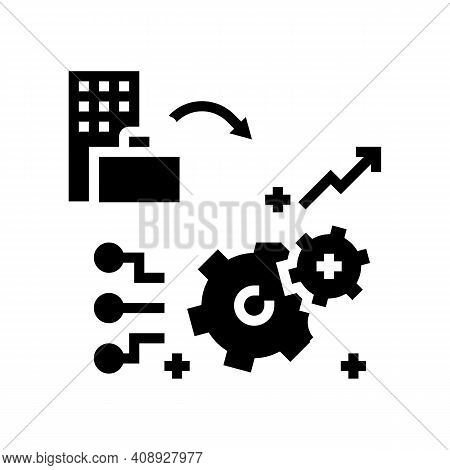 Experience Benefits Glyph Icon Vector. Experience Benefits Sign. Isolated Contour Symbol Black Illus