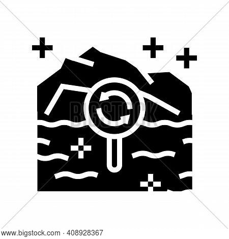Ecotope System Glyph Icon Vector. Ecotope System Sign. Isolated Contour Symbol Black Illustration