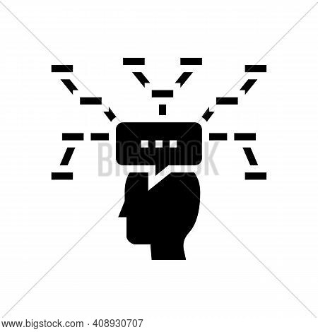Decision Theory Glyph Icon Vector. Decision Theory Sign. Isolated Contour Symbol Black Illustration