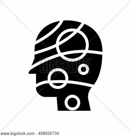 Universe Philosophy Glyph Icon Vector. Universe Philosophy Sign. Isolated Contour Symbol Black Illus