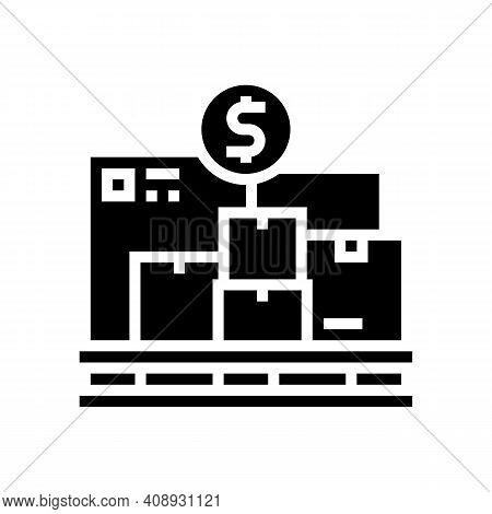 Procurement Service Glyph Icon Vector. Procurement Service Sign. Isolated Contour Symbol Black Illus