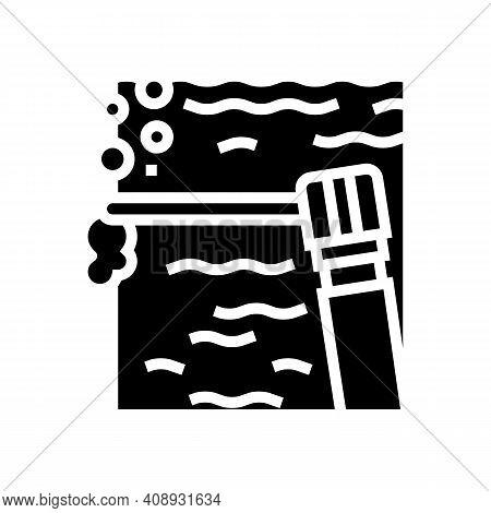 Spot Welding Glyph Icon Vector. Spot Welding Sign. Isolated Contour Symbol Black Illustration